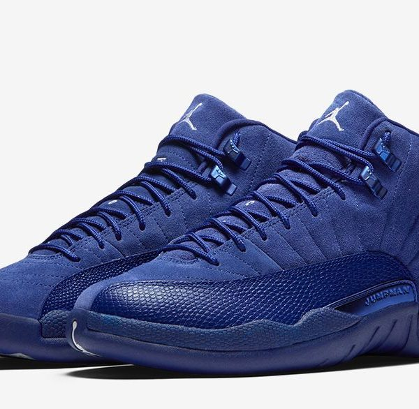 big sale 95943 cd758 Jordan Retro 12 blue Boys
