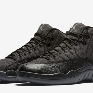 AIR-JORDAN-12-RETRO-WOOL-DARK-GREY-BLACK-PAIR