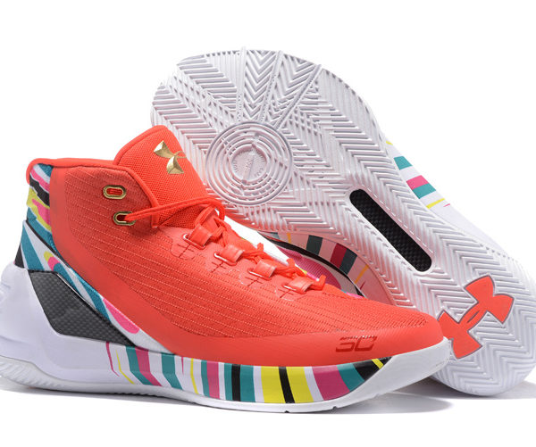 cheap for discount 9c526 bb478 Under Armour Curry 3 red/rainbow Men