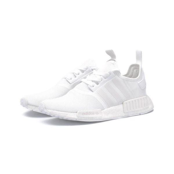 Adidas Nmd R1 Triple White Men Refreshoe Com